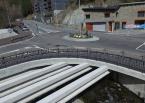 Eixample i rectificació a la C.G. Núm.4 a la zona de la Borda del Colat i nou pont sobre el riu d'Arinsal, Enginyeria (Principat d'Andorra)