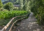 Camino entre el pueblo de Sornàs y el pueblo de Ansalonga, Ingeniería (Principado de Andorra)
