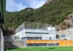 Tres Camps de Futbol a La Massana, Arquitectura (Principat d'Andorra)