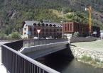 Rotonda de Gir, Zona Cruïlla de la C.G. núm. 1 amb la C.S. de Bixessarri, Enginyeria (Principat d'Andorra)