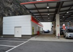 Estació de serveis a la C.G.1, La Margineda, Arquitectura (Principat d'Andorra)