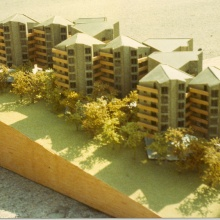 Contest of social housing in La Borda de Sales (First Prize)