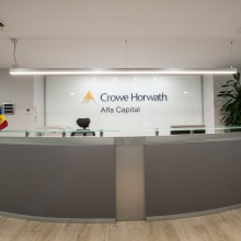 Reform offices Crowe Horwath Alfa Capital, located at the Onix Building in Av. Meritxell