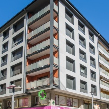 Improved thermal facade, Building Av. Verge de Canòlich, 58