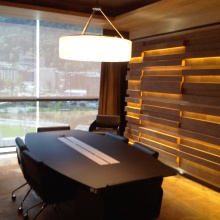 Facilities of three multi-purpose, private rooms in the building of the business centre - Andbank