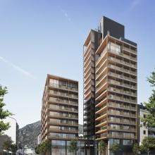 A Tower - Illa IX - Clot d'Emprivat - Col·laboració amb Ricard Mercadé / Aurora Fernández Arquitectes