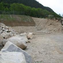 Excavació d'estació de serveis