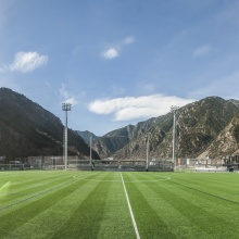 Two Football fields in Santa Coloma