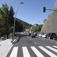 Desviació de Sant Julià de Lòria: Tram entre Enllaç E2 i el pont de connexió amb la CG1