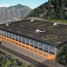 Concurs Avantprojecte Heliport Andorra a La Comella (Primer Premi)