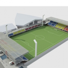 Andorra National Stadium Competition (Second Prize)
