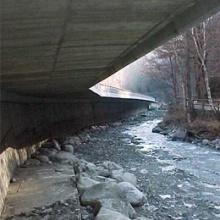 Eix de la C.G.3, Tram Sortida Escaldes-Túnel Artificial