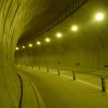 Enllumenat dels Túnels Vells de Sant Antoni