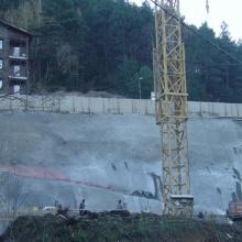 Excavació per edificis de Vivendes, Font Amagada (Anyós)