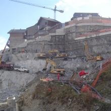 Excavació per Projecte de Vivendes Socials, al Pas de la Casa