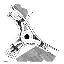Rotonda Caldea Cruïlla - Josep Viladomat i Esteve Albert