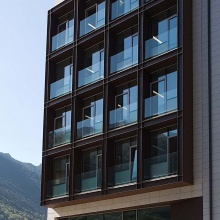 New offices of the Government in Prat del Rull