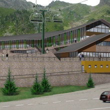 Concurs Avantprojecte Edifici els Planells, Arcalís (Primer Premi)