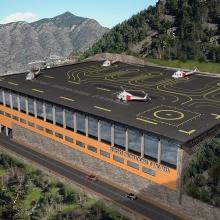 Estudi d'avantprojecte Heliport Andorra a La Comella
