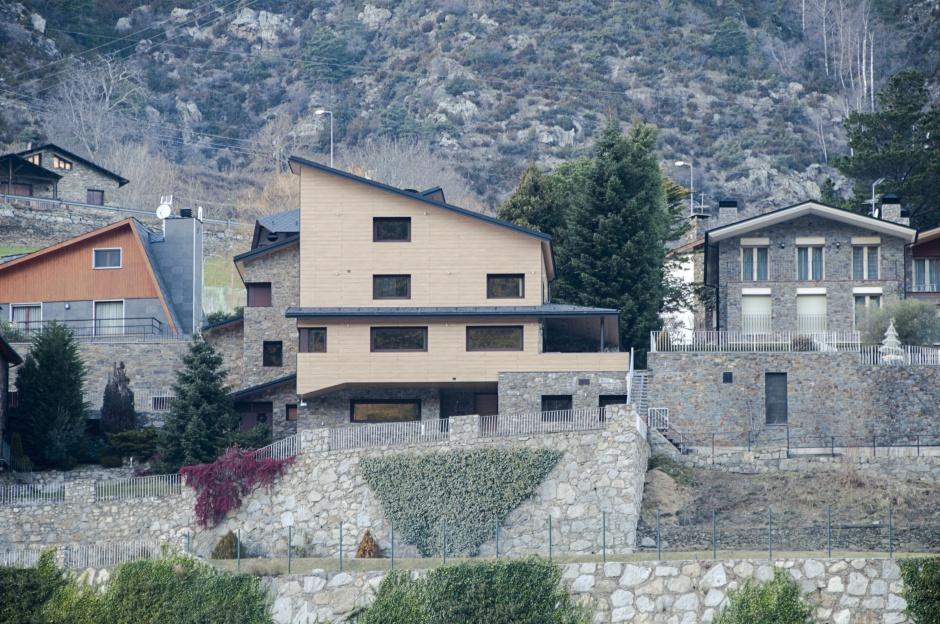 Reforma i ampliació d'habitatge unifamiliar, a l'urbanització Camp Bernat, Architecture (Principality of Andorra)