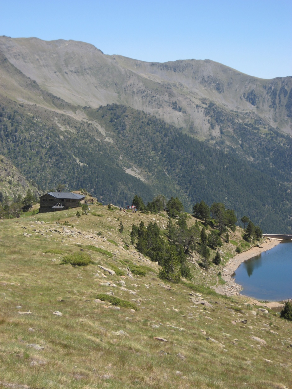 Facilities saved refuge of Comapedrosa, Engineering (Principality of Andorra)