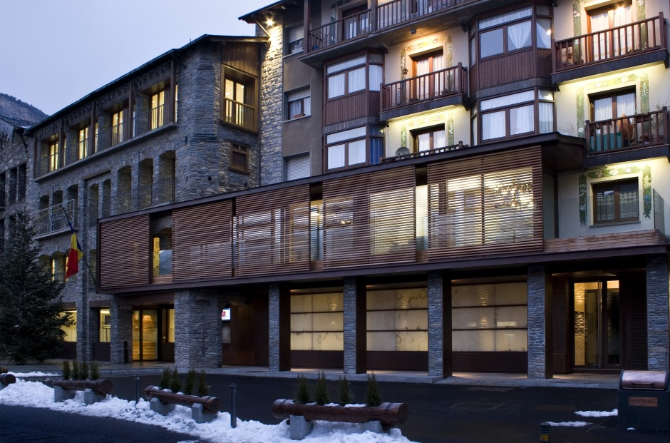 Enlargement and Reform, Ordino Communal House, Architecture (Principality of Andorra)