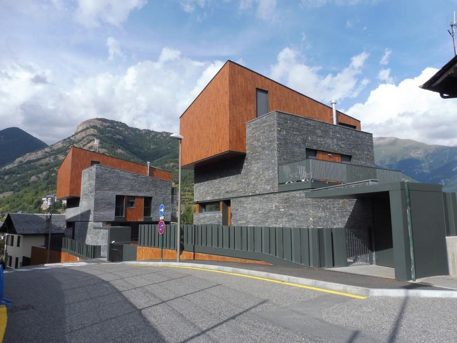 Habitatge Unifamiliar al Carrer de les Escoles, Parcel·la 2, Arquitectura (Principat d'Andorra)