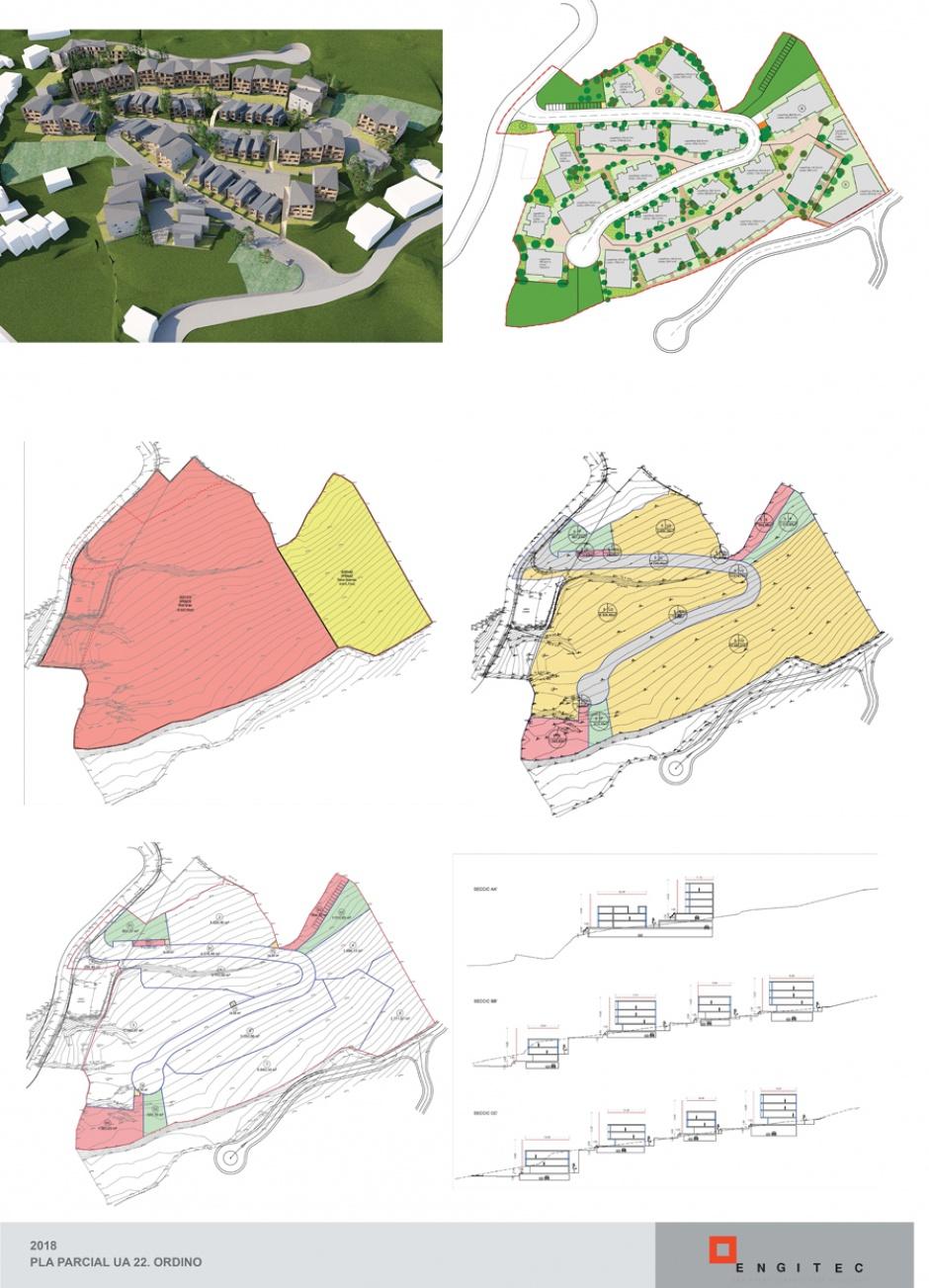 Pla Parcial UA-22, Planejament (Principat d'Andorra)