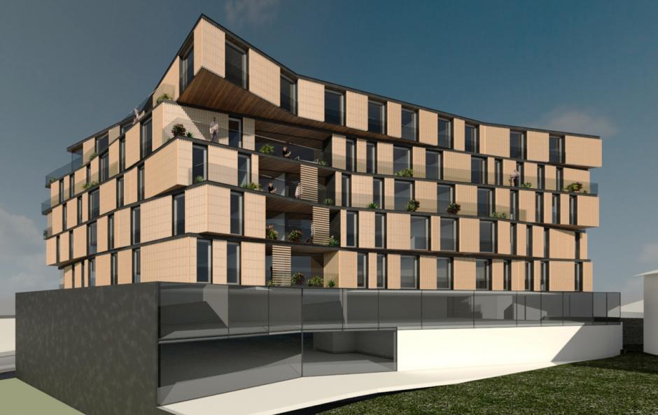 Edifici d'Habitatges Plurifamiliars , Arquitectura (Principat d'Andorra)