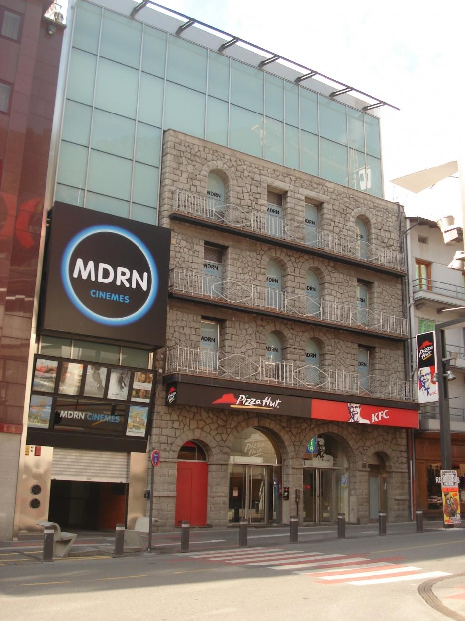 Reforma y Ampliación Cines Modern, Arquitectura (Principado de Andorra)