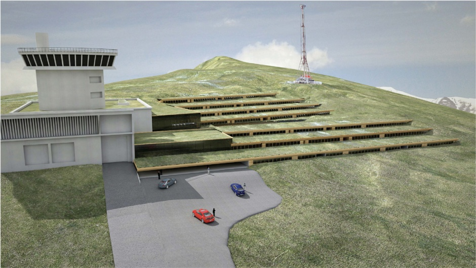 Andorra High Performance Center (First Prize), Architecture (Principality of Andorra)