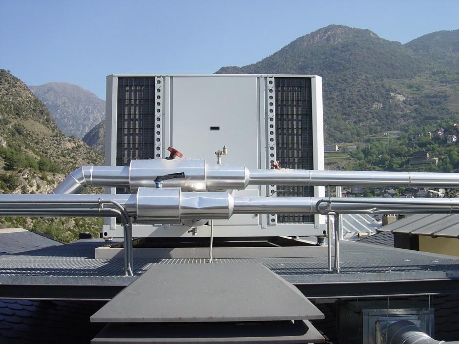 Instal.lacions Edifici de Habitatges i Oficines a la Plaça de la Germandat, Engineering (Principality of Andorra)