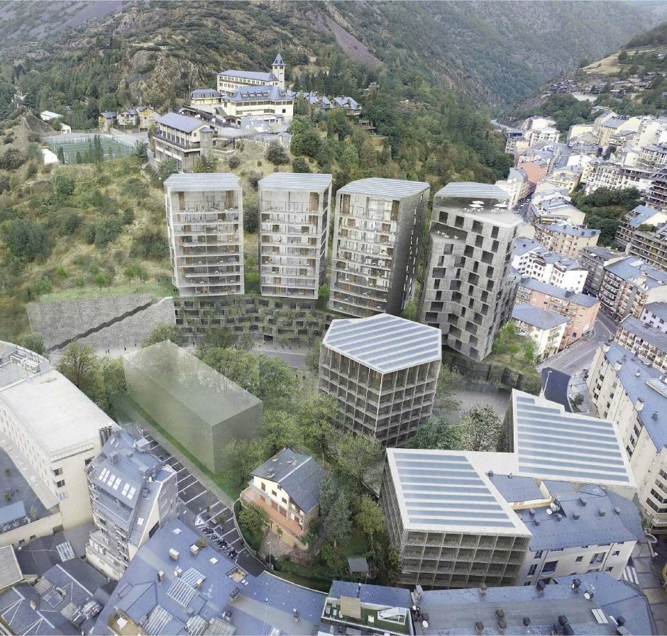 Masterplà Falgueró , Arquitectura (Principat d'Andorra)