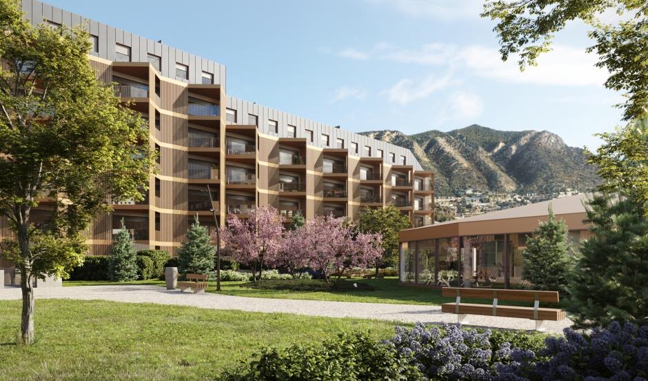 Edifici d'Habitatges - White Angel - Col·laboració amb Victor Rahola Arquitecte, Arquitectura (Principat d'Andorra)