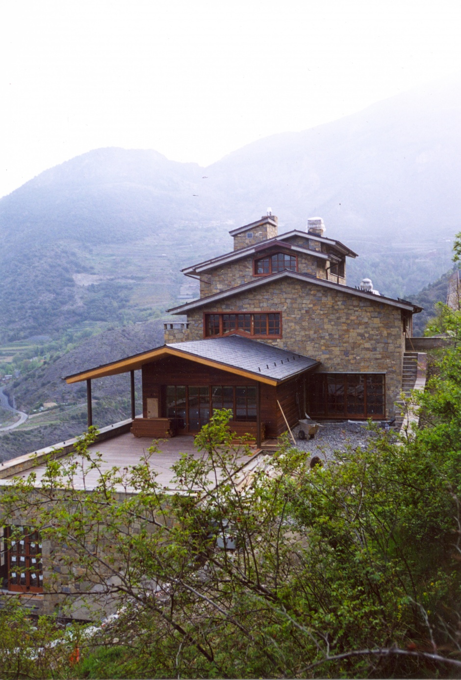 Single Family Home in Aixirivall, Architecture (Principality of Andorra)