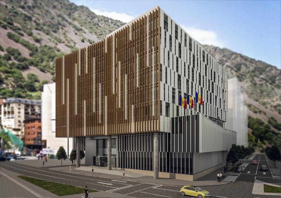 Concurs Nova Seu de la Justícia (Primer Premi), Architecture (Principality of Andorra)