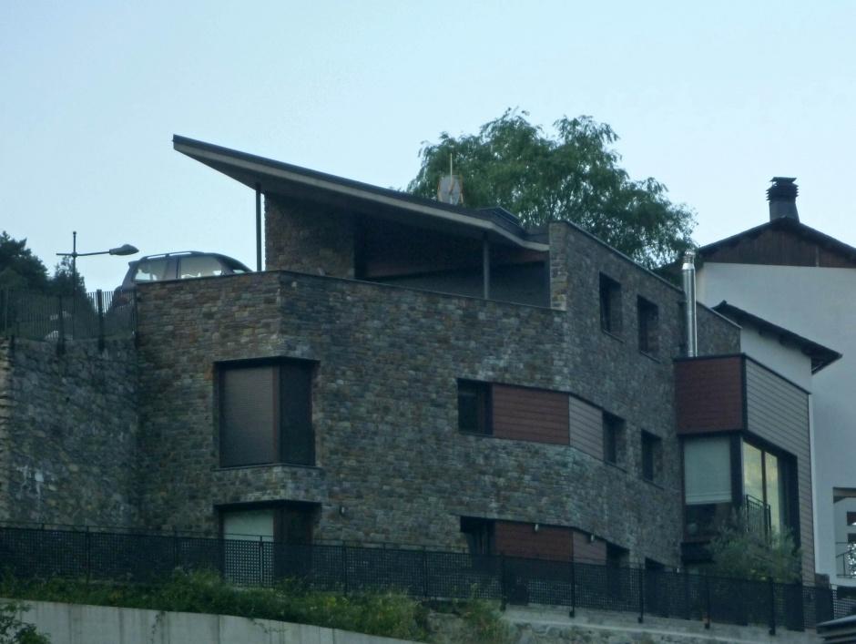 Vivienda Unifamiliar en la Ctra. de la Rabassa, Architecture (Principality of Andorra)