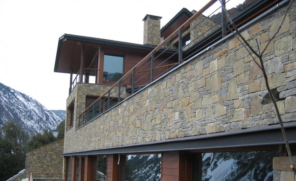Arquitectura - Habitatge Unifamiliar, als Vilars, Escaldes., Arquitectura (Principat d'Andorra)