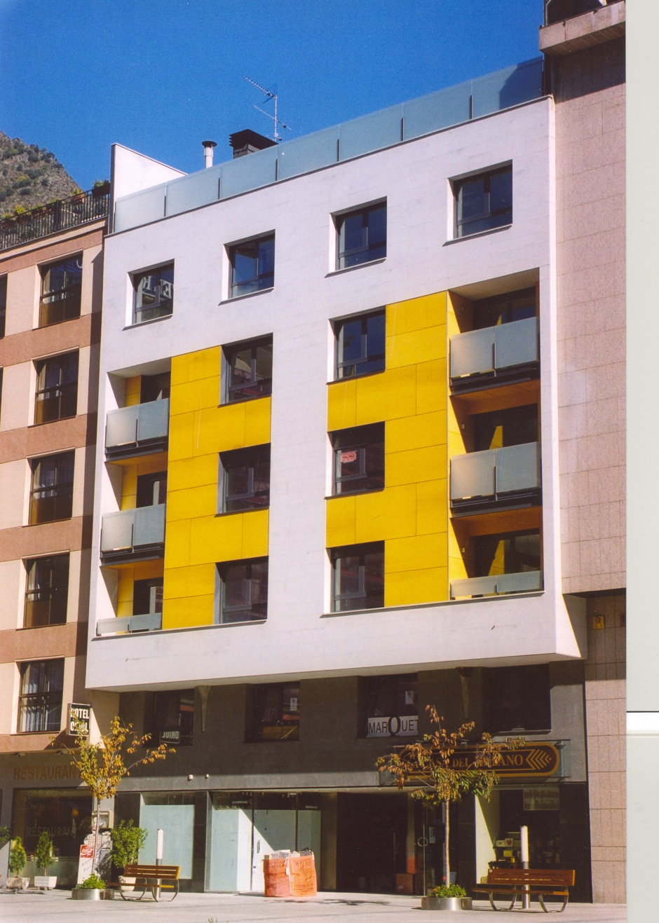 Residential building located at Coprínceps square, 3, Architecture (Principality of Andorra)