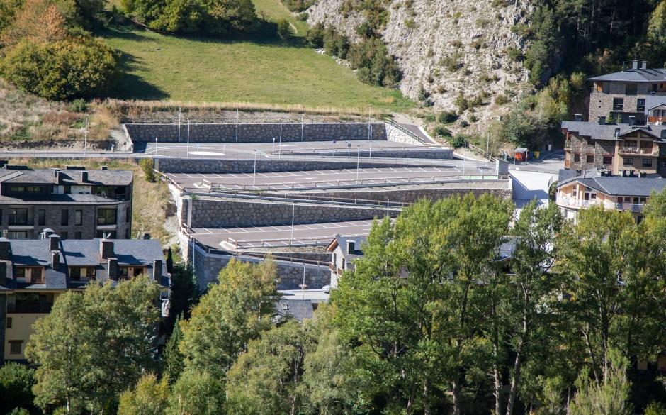 Parking Camp del Ceró, Engineering (Principality of Andorra)