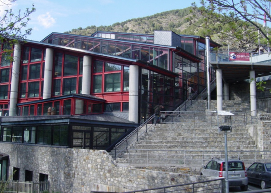 Reform and Expansion of the Ordino Sports Center, Architecture (Principality of Andorra)