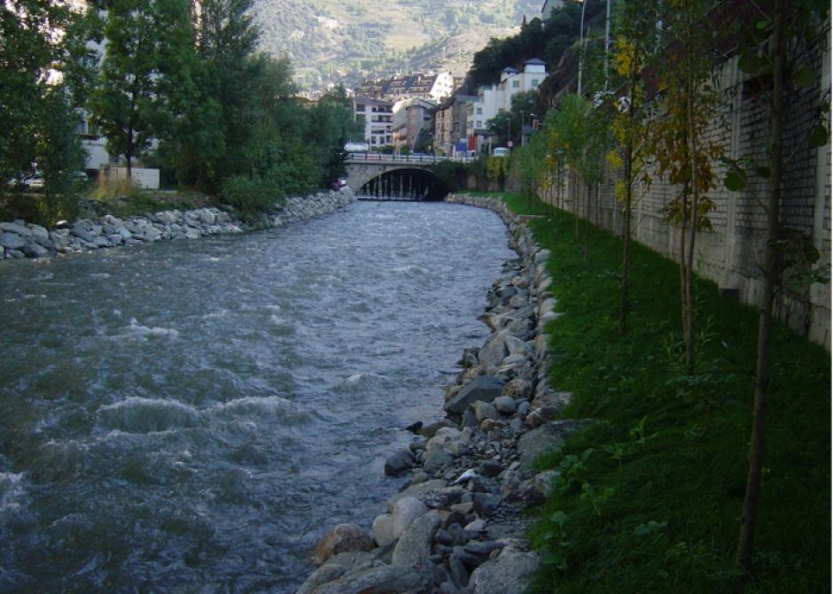 Col.lector General, Aigües Residuals, Enginyeria (Principat d'Andorra)