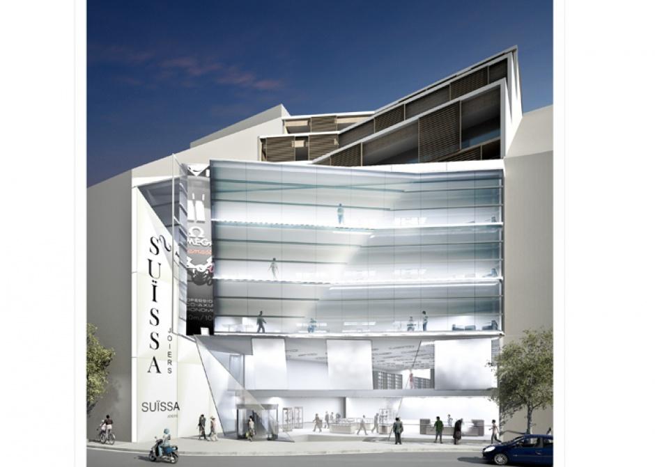 Concurs per edificar la parcel.la El Trillà 4 (Segon Premi), Arquitectura (Principat d'Andorra)