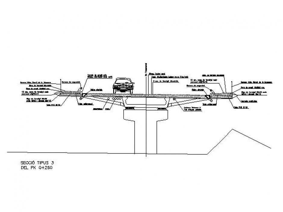 Desviació de la Massana, Rotonda Pont de Palanques a Pont Arinsal, Enginyeria (Principat d'Andorra)