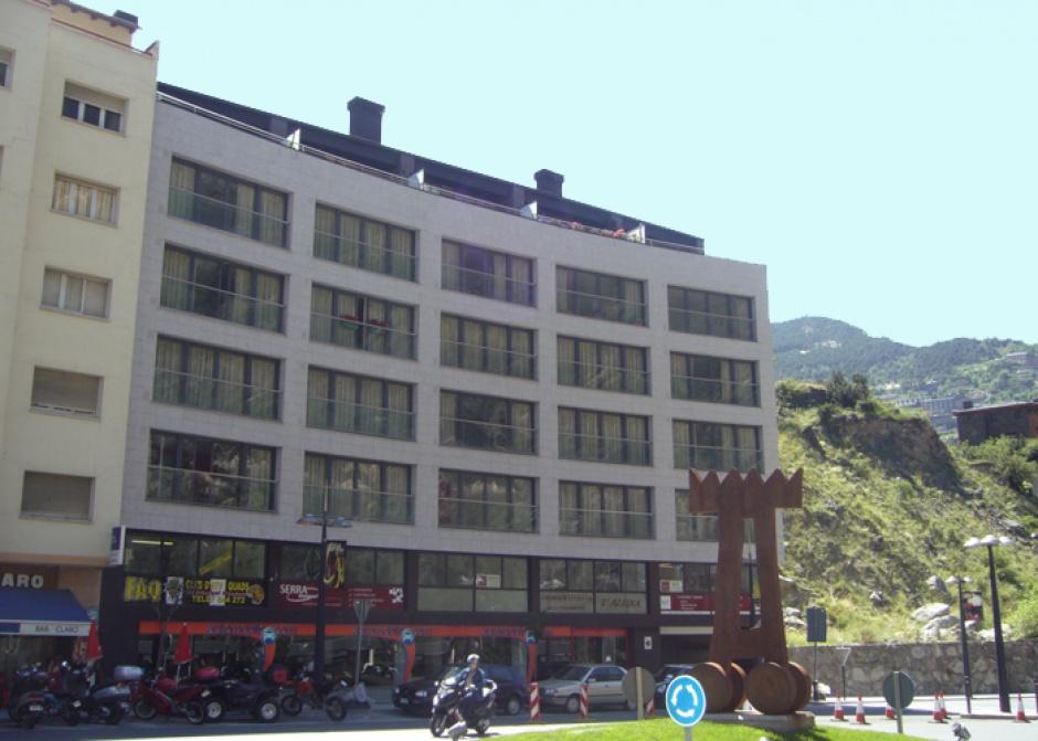 Edifici Habitatges a les Arades, Av. Verge de Canòlich, Architecture (Principality of Andorra)