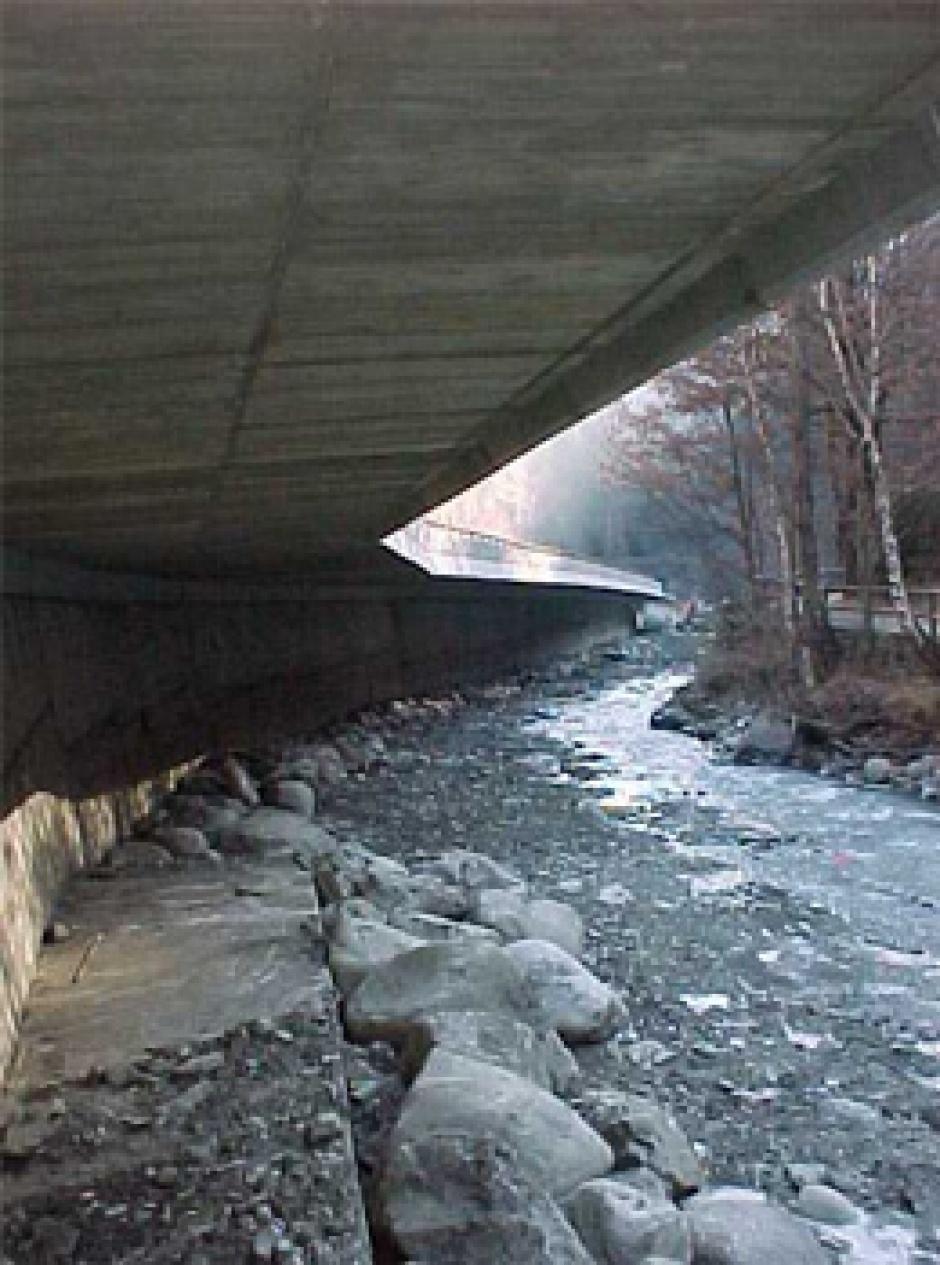 Eix de la C.G.3, Tram Sortida Escaldes-Túnel Artificial, Enginyeria (Principat d'Andorra)