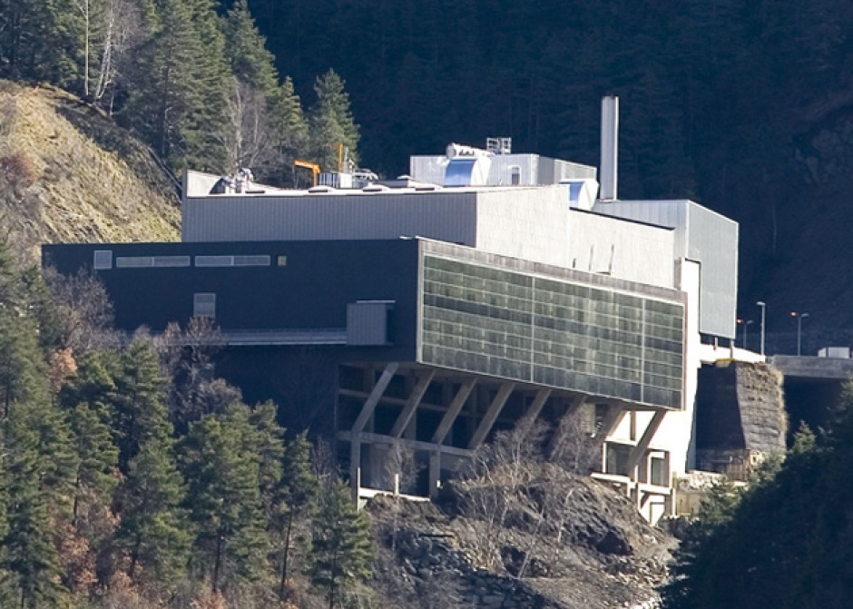 Structure and Civil Engineering, Central Waste Treatment Andorra S.A a La Comella, Engineering (Principality of Andorra)