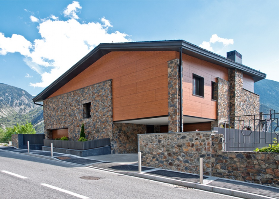 Renovation of single-family housing in Can Diumenge, Architecture (Principality of Andorra)