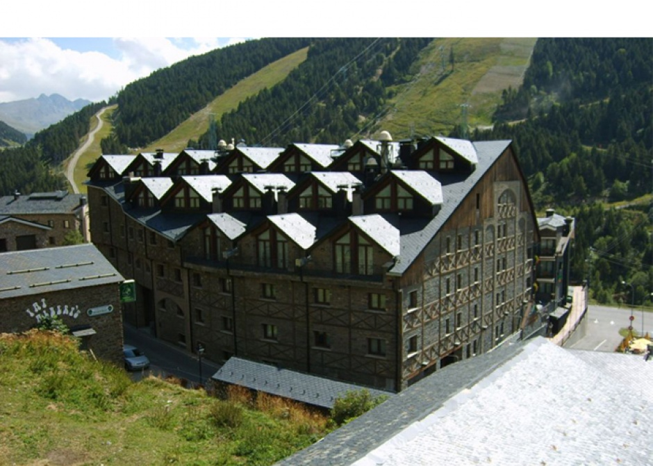 Reforma Hotel Himalaia a Soldeu, Architecture (Principality of Andorra)