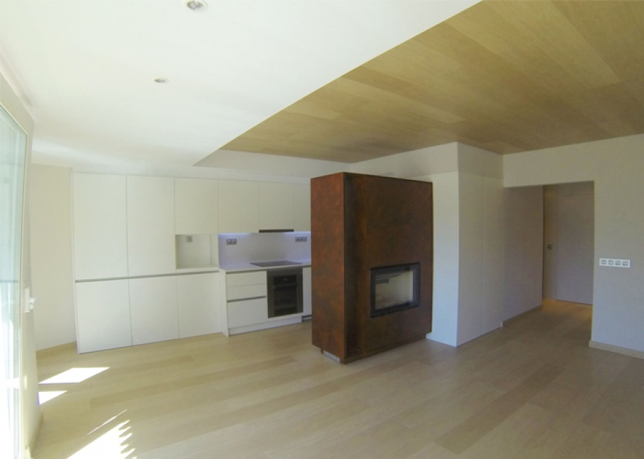Interior renovation of a house, Architecture (Principality of Andorra)